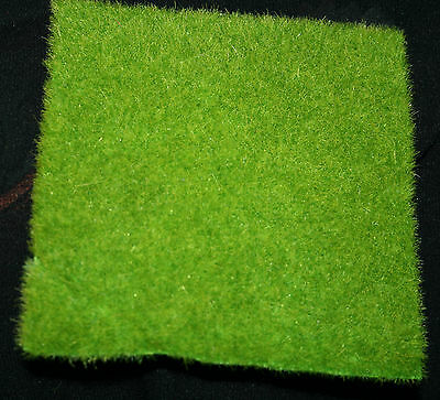 Fake Lawn Grass Turf Square Fairy Gardens Model Cars Displays Train Landscapes