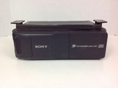 Sony Car 10 Cd Changer Excd-3rf With Magazine Xa-250