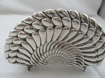 STERLING SILVER NAPKIN HOLDER 925 Used