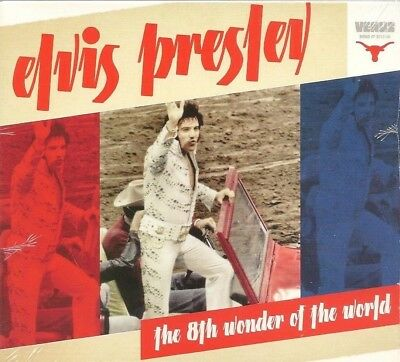 "ELVIS PRESLEY CD ""THE 8th WONDER OF THE WORLD"" 2012 VENUS MARCH 3 1974 HOUSTON"
