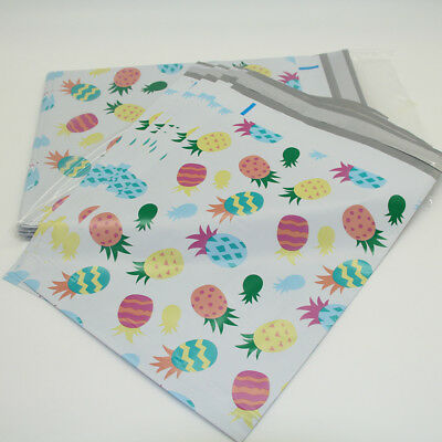 """Pineapple Wholesale 50Pcs 10x13""""  Poly Mailers Envelopes Shipping Bags Self Seal"""