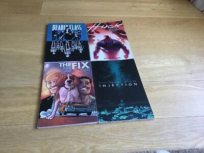 Small Lot Graphic Novel/TPB - Injection/Deadly Class/The Fix/Huck - SIGNED