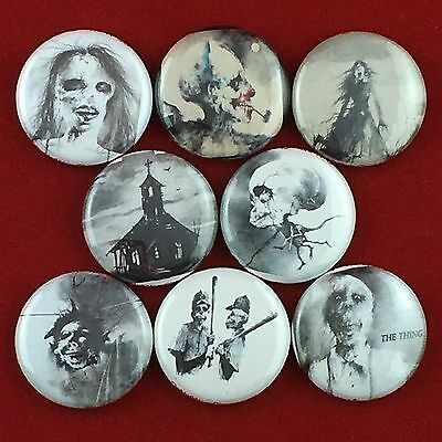 "Scary Stories To Tell in the Dark 1"" buttons badges Ghosts Horror Kids Books"