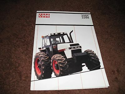 CASE 2094,2294 David Brown tractor brochure