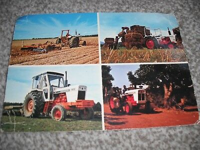 DAVID BROWN  tractors postcard