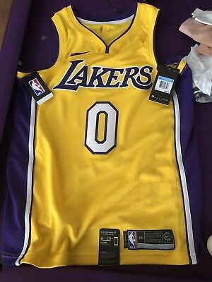 new concept bbd19 57ad5 czech nike lakers 0 kyle kuzma gold nba authentic icon ...