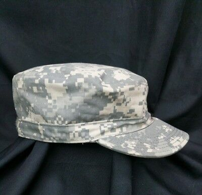 4e8c2b5a4eb Patrol cap Army ACU digital camo hat size 7 3 4 issue camouflage NEW WITH