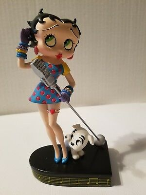 "Betty Boop ""Betty Sings the Blues"" Collector Edition Danbury Mint #F6941"
