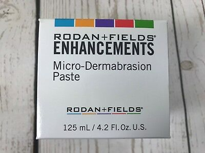 Rodan and Fields ENHANCEMENTS Microdermabrasion Paste full size 4.2 Fl Oz