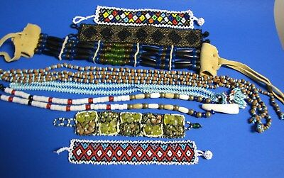 LOT of Native American + Beaded items
