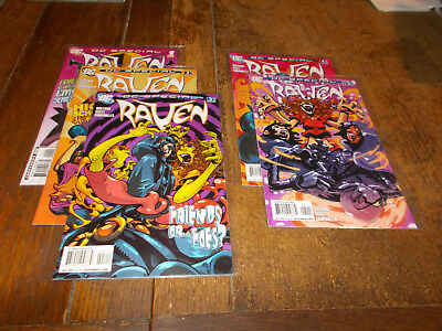 Raven DC Special - Complete set of 5 issues 1 - 5 DC 2008 Titans Wolfman VFN