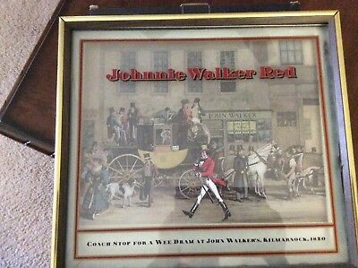 vintage rare Johnnie Walker Red picture