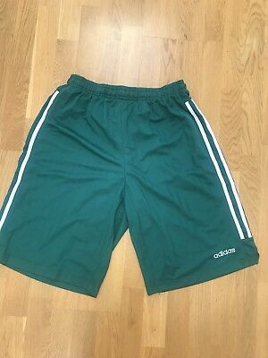 buy online 89467 18c3b New With Tags Vintage Adidas Basketball Shorts Manchester Giants Green 3XLT