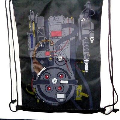 Loot Crate Ghostbusters Proton Pack Drawstring Backpack June 2018 Exclusive 18""
