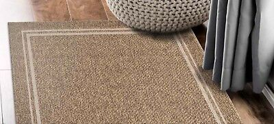 Hallway Runner Hall Runner Rug Modern Brown Beige 3 Metres Long x 80 Elite 2321