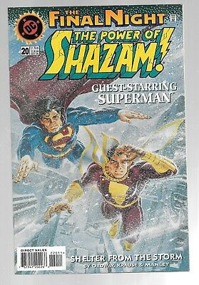 POWER OF SHAZAM 20 Captain Marvel Mary Black Adam Superman Lex Luthor FINAL NIGH