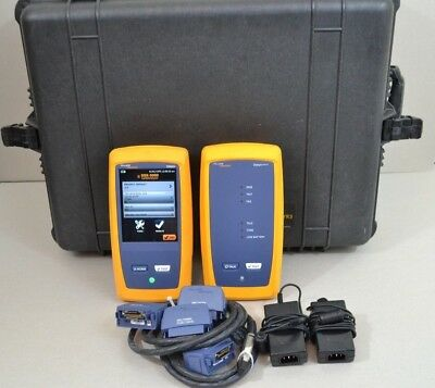 Fluke Networks DSX-5000 Versiv Cat6 Cat6a LAN Cable Certifier DSX 5000 Superb