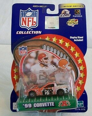 Tim Couch NFL Collection Limited Edition Car Corvette (c)2000 Hasbro NEW