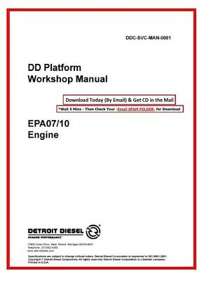 DETROIT DD13, DD15, DD16 GHG17 Engine Troubleshooting Manual