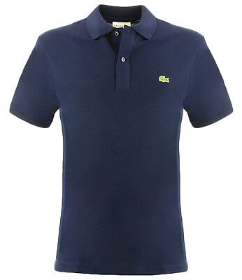 Polo Lacoste slim fit, color azul para hombre Lacoste 4012 SLIM FIT166