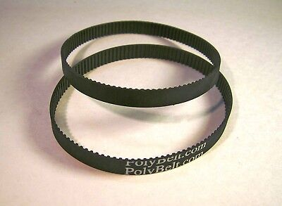 2 Toothed Drive BELTS for CRAFTSMAN Model 315.17321 Jointer Planer US SHIPS FREE