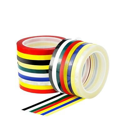 66M Roll Sticky Self Adhesive Sign Decal Line Tape Pin Stripe Vinyl 3/5/10mm