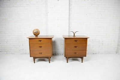 mid century modern nightstands by Kent Coffey