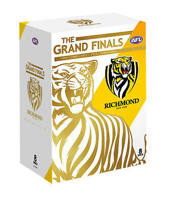 BRAND NEW AFL - Richmond : The Grand Finals (DVD, 8-Disc Set) R4 Premiers 2017