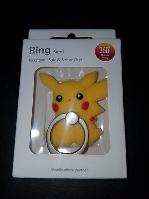 Pikachu - Pokemon Cell Phone Ring Stent Kickstand