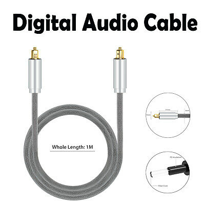 High Quality 1M Optical Toslink S/PDIF 5.1 7.1 DTS ADAT's Digital Audio Cable