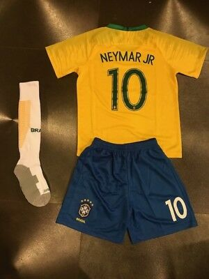 2b8ec4163 JAMES COLOMBIA YELLOW Home Kids Jersey + Shorts World Cup 2018 All ...