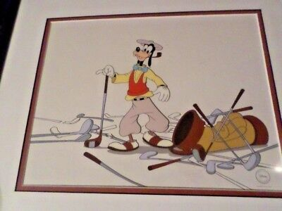 "Disney's Goofy Golfer ""How to Play Golf"" Limited Edition Sericel"