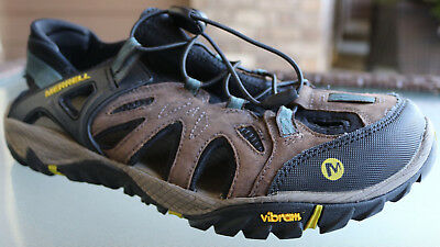 1c7f7ef8f46 MERRELL All Out Blaze Sieve Men s 11 Sport Sandals Water Shoes Clay Vibram