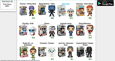 6 x Funko Pop Mystery Box Includes Exclusives, Commons And Chance at Chase