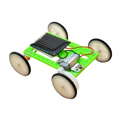 DIY Solar Powered Car Assemble Toys Science Educational Kit for Kids Student