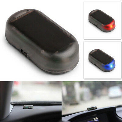 Anti-theft Flash LED Light Vehicle Car Solar Energy Alarm Strobe Security Warn