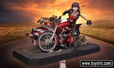 Gotham City Garage Statue Harley Quinn Deluxe 22 cm Dc Collectibles Batman Joker