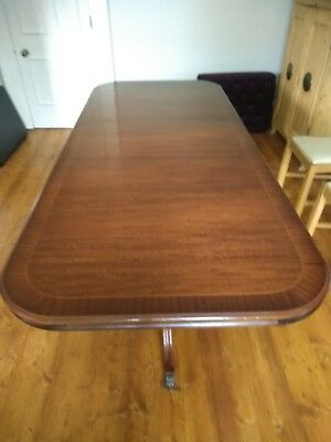 Antique Victorian Mahogany Extending Dining Table seats 8