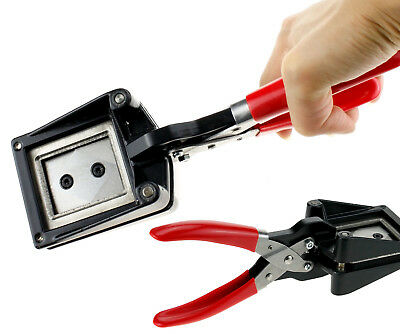 Handheld Passport ID License Photo Picture Punch Cutter Cutting Tool Easy Use