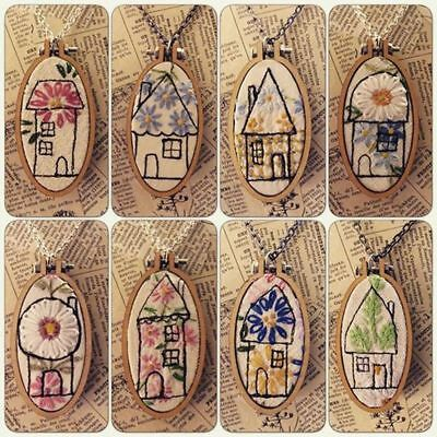 Mini Embroidery Wooden Frame Hand Stitching Cross Stitch Framing Hoop DIY Crafts