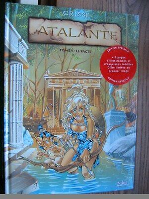 Atalante tome 1 de Crisse -- Edition Originale + 8 pages en plus + autocollant