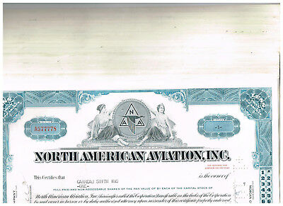 Wholesale-Lot 51 North Ameican Aviation, Inc., 1960s, blue, VF