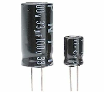 Electrolytic Capacitor 100uF 25V 105C 6.3x11mm RoHS