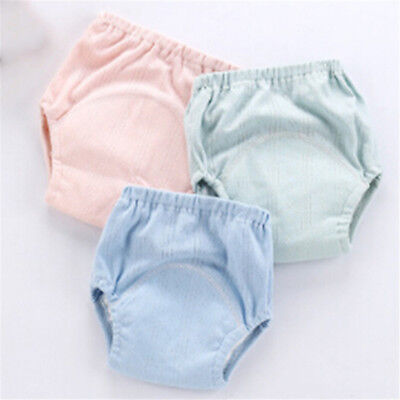 Pure Cotton Cool Baby Training Pants Diaper Cloth Infant Toddler Underwear Cute