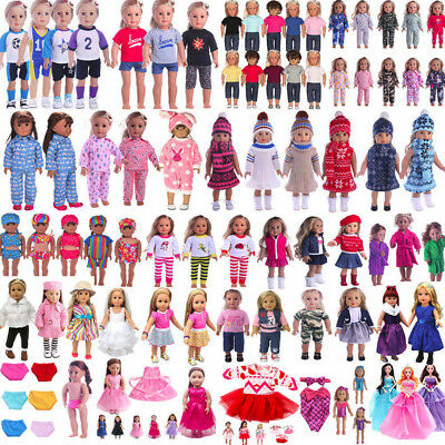 "Doll Clothes Pajames Dress Bag for American Girl 18"" Our Generation My Life 2018"