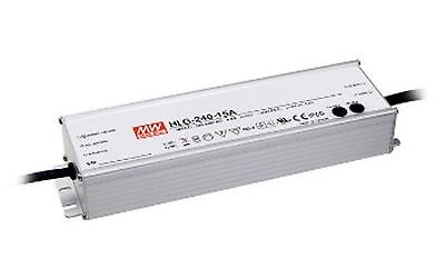 240W high efficiency LED power supply 12V 16A with PFC, with dimming function