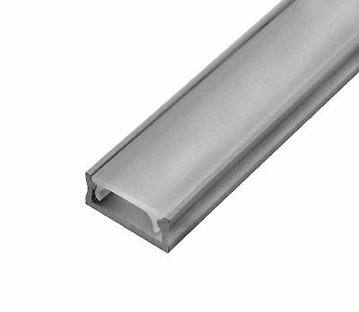 Aluminum profile for flexible LED strips 1m