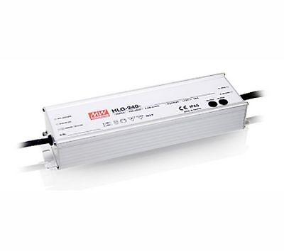 240W high efficiency LED power supply 24V 10A with PFC