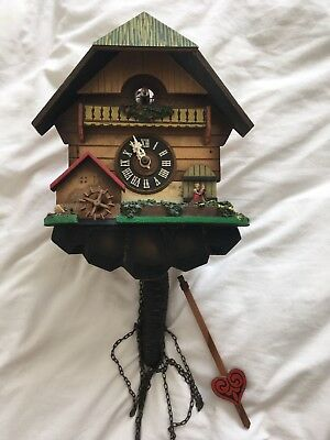 Vintage Black forest style German cuckoo clock - WO
