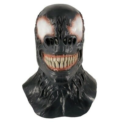 Venom Spiderman Mask Latex Adults Fancy Dress Theme Costume Party